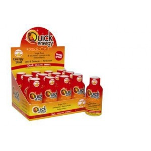 QUICK ENERGY 12 SHOTS DE 59 ML