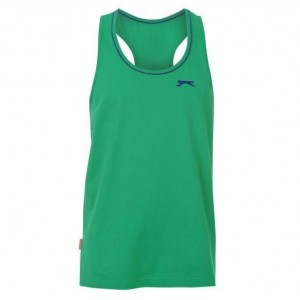 CAMISETA MUSCLE GREEN SLAZENGER