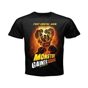 CAMISETA MONSTER GAINER 2200