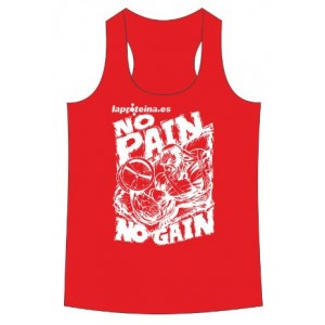 CAMISETA NO PAIN NO GAIN ROJA