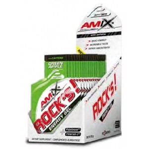 PERFORMANCE ROCK'S ENERGY GEL SIN CAFEINA 20X32 GR