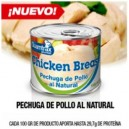 CHICKEN BREAK POLLO 10 X 100 GR