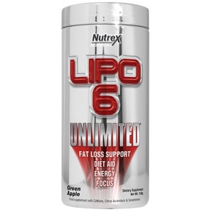 LIPO 6 UNLIMITED POWDER 60 SERV