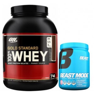PACK 100% WHEY GOLD STANDARD + BEAST MODE