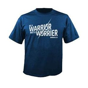 CAMISETA WARRIOR AZUL