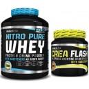 NITRO PURE WHEY 2,27 KG + CREA FLASH
