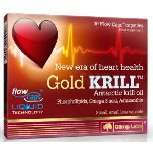 GOLD KRILL 30 FLOWCAPS