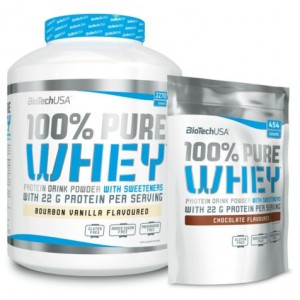 100% PURE WHEY 2,27 KG + 454 GR