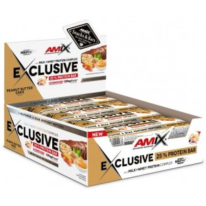 EXCLUSIVE PROTEIN BAR 24X40 GR
