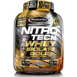 NITROTECH WHEY PLUS ISOLATE GOLD 1,81 KG