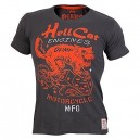 CAMISETA HELL CATS CHARCOAL