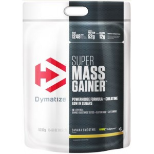 Tabla nutricional super gainer mass dymatize