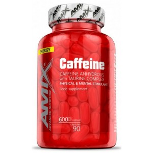 CAFFEINE WITH TAURINE 90 CAPS